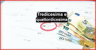 Tredicesima e quattordicesima e cassa integrazione guadagni (cig)